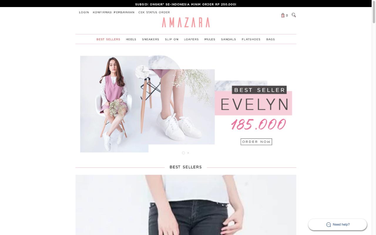 www.amazara.co.id